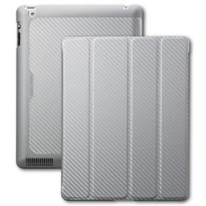 CoolerMaster Wake Up Folio Carbon Texture, Silver