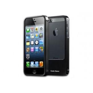 Cooler Master Aluminum Bumper Black For-iPhone 5 Case