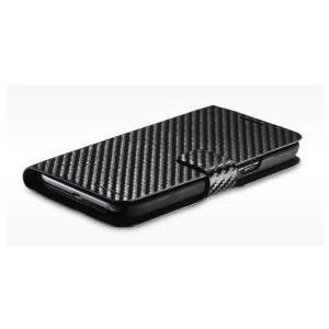 Cooler Master Traveler, N2U-100 Folio, Carbon Texture, for Samsung Galaxy Note 2, Black