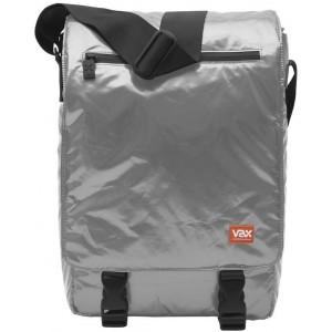 "VAX Barcelona Entenza 12"" Notebook Messenger Bag - Bright Silver"