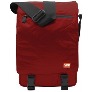 "VAX Barcelona Entenza 12"" Notebook Messenger Bag - Red"