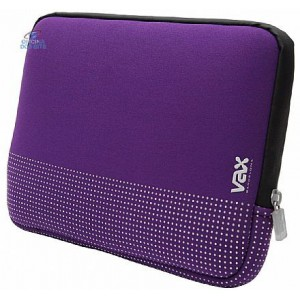 "VAX Barcelona Fontana 16"" Notebook Sleeve - Purple"