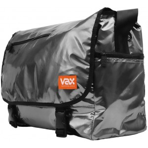 VAX Barcelona Basic Messenger VAX-M154BUGYB Notebook Bag - Metallic Grey