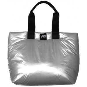 VAX Barcelona Ravella VAX-160008 Tote Bag - Bright Silver