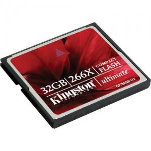 Kingston 32GB CompactFlash Ultimate 266x Memory Card