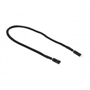 """BitFenix Alchemy 2-Pin Chassis I/O Cable (11.8"""", Black)"""