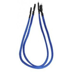 BitFenix 2-pin Chassis Extension Cable - Blue (BFA-MSC-2io30BK-RP)