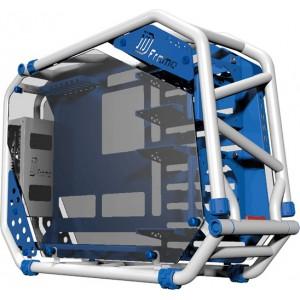 In Win D-Frame 2.0 White Reinforced Steel Tube, Aluminum, Tempered Glass ATX Full Tower Case