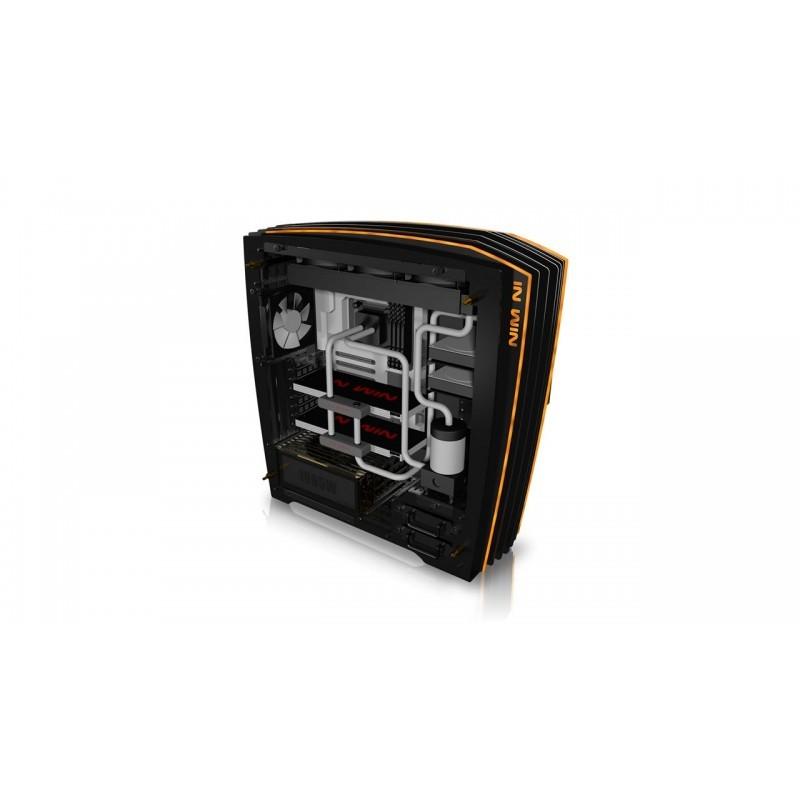 Cases & Towers - InWin ca02 H-Frame 2.0 1065W Yellow LED E-ATX Open ...