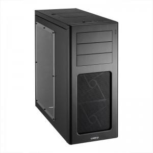 LIAN LI PC-7HWX Black Aluminum ATX Mid Tower Computer Case