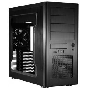LIAN LI PC-8NWX Black Aluminum ATX Mid Tower Computer Case no Power Supply