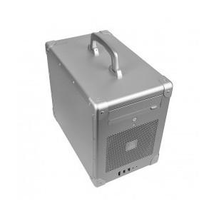 LIAN LI PC-TU200B Black Aluminum Mini-ITX Tower Computer Case