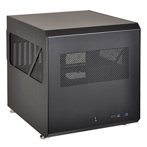LIAN LI PC-V33B Black Aluminum ATX Mid Tower Computer Case ATX PSU (not included) Power Supply