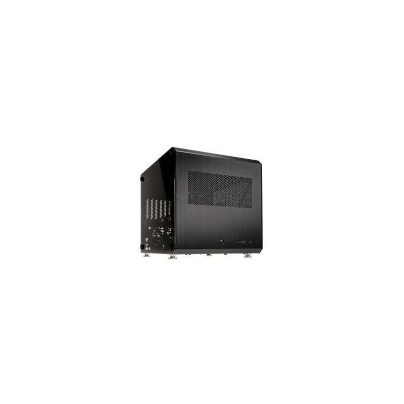 LIAN LI PC-V33WX Black Aluminum ATX Mid Tower Computer Case ATX PSU (not  included) Power Supply