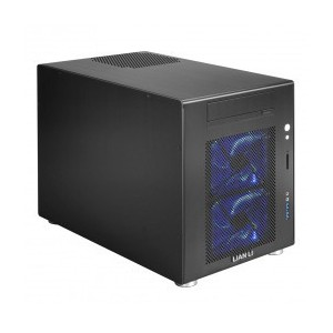 LIAN LI PC-V354B Black Aluminum MicroATX Mini Tower Computer Case