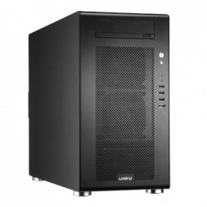 Lian Li Midi-Tower PC-V750B PC Case with Window  2x USB 3.0 / Black