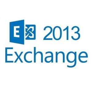 Microsoft Exchange 2013 Std User - 1 Year Per User License