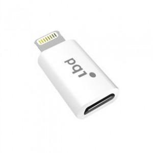 PQI i-Dongle, Apple MFi-Certified, White