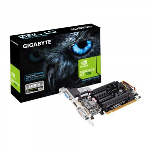 GIGABYTE nVidia GeForce GT 720 - 1024MB GDDR3, 64-Bit Memory Bus