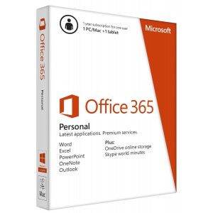 Microsoft Office 365 Personal 1 Year Subscription - FPD