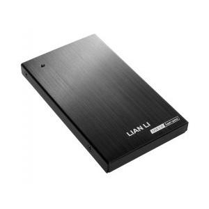 """Lian Li EX-10QB - EX-10QB 2.5"""" External HDD Case USB 3.0 - black"""