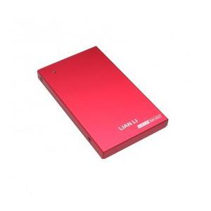 "Lian Li EX-10QR Red USB 3.0 2.5"" HDD External Enclosure"