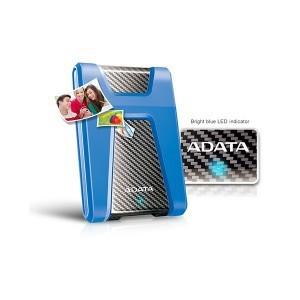 ADATA HD650 2TB External Portable HDD Blue USB 3.1