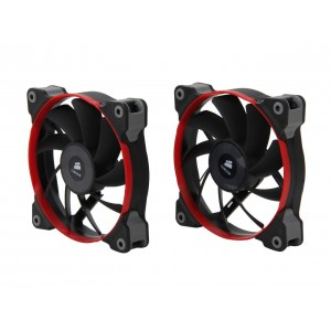 Corsair Air Series AF120 Quiet Edition TWIN PACK Hydraulic Bearing