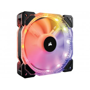 Corsair HD Series, HD140 RGB LED, CO-9050069-WW, 140mm High Performance Individually Addressable RGB LED PWM Fans (Dual Fans with Controller)