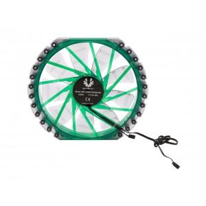 BitFenix BFF-LPRO-23030G-RP Spectre Pro 230mm LED Case Fan, Green