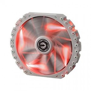 BitFenix Spectre Pro LED, 230mm, White with Red LED