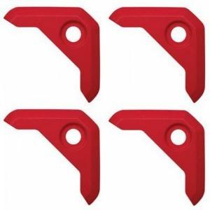 Corsair ML Series Fan Red Corner Caps