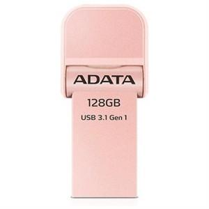 Adata AAI920-128G-CRG 128gb Rose Gold Lightning/USB 3.1 Flash Drive for iPhone, iPod, iPad, iOS Device
