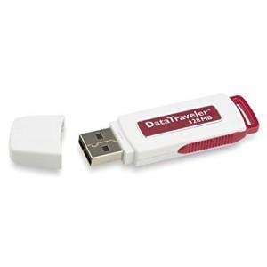 Kingston Data Traveler USB flash drive - 128 MB ( DTI/128 )