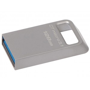Kingston DataTraveler Micro 3.1 DTMC3/128GB Speicherstick USB 3.1 silber