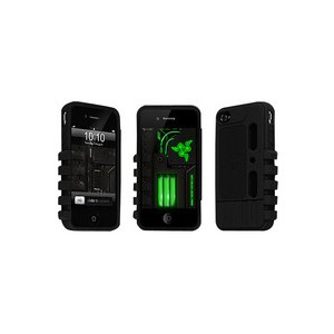 Razer RC21-00410101-R3M1 iPhone 4 Case - 1 Pack - Retail Packaging - Black