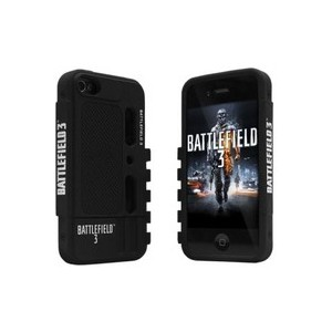 Razer RC21-00390101-R1M1 Battlefield 3 Case for iPhone 4 - 1 Pack - Retail Packaging - Black