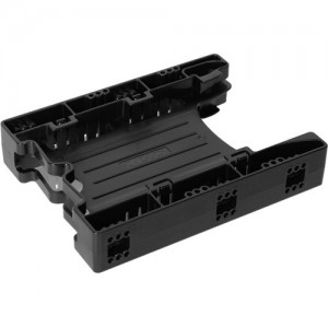 Icy Dock Tool-less Dual 2.5 to 3.5 HDD Drive Bay SSD Mounting / Kit / Bracket / Adapter - EZ-Fit Lite MB290SP-B (1x Unit Package)