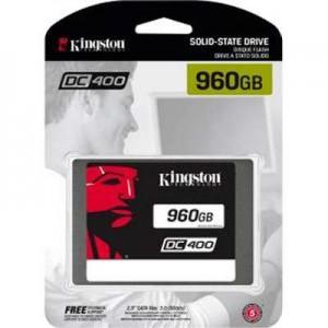 Kingston SEDC400S37/960G Ssdnow Dc400 - Solid State Drive - 960 Gb - Internal - 2.5 Inch - Sata 6Gb/S