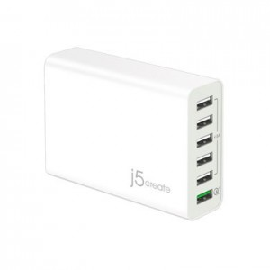 j5create - Quick Charge AC Power Adapter - White