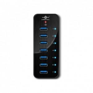 Vantec UGT PH307U3-USB 3.0 7 Port Hub, Black