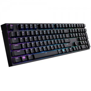 Cooler Master MasterKeys Pro L Mechanical Keyboard with Intelligent RGB Backlighting (Cherry MX Red)