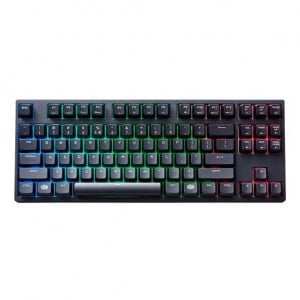 Cooler Master MasterKeys Pro S Mechanical Keyboard with Intelligent RGB Backlighting (Cherry MX Red)