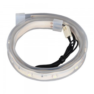 Lian-li Led50-W White WaterProof Rubber Protection LED Strip