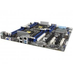 Asus Z10PE-D16 Intel C612 PCH/ DDR4/ Quad CrossFireX and 3-Way SLI/ SATA3&USB3.0/ M.2/ A&V&2GbE/ EEB Server Motherboard