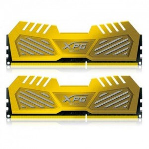 Adata X3U2800W4G12-DG 4GB x 2 Yellow Desktop Memory Kit