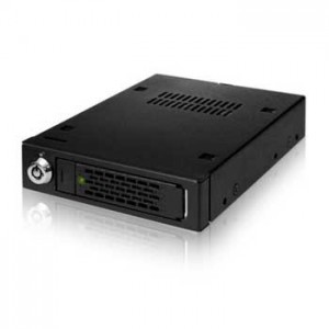 Icy Dock MB991IK-B  2.5 Inch SATA/SAS HDD/SSD Full Metal Mobile Rack In 1 x 3.5 Inch Device Bay