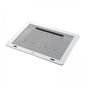 """Cooler Master MNX-SMTS-20FN  MasterNotepal Laptop Cooling stand Hub sleeve, Silver black, 17"""""""