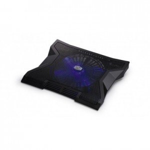 "Coolermaster R9-NBC-NXLK-GP Notepal XL 17"" Blue LED USB Powered Laptop Cooler"