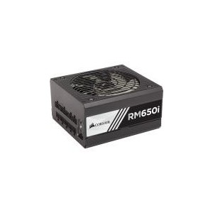 Corsair CP-9020081 RM650i 650 Watt 80 Plus Gold Certified Fully Modular Power Supply Unit